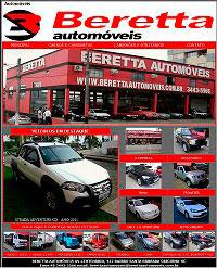 pagina inicial da beretta Automóveis